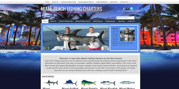 Fishing Charter Websites